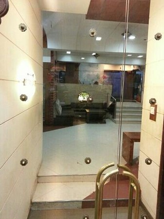 Vrinda Hotel: Reception Area view from the restaurant