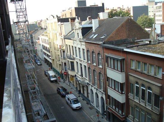 Antwerp City Hotel : uitzicht vanuit de kamer