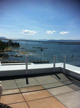 Hotel Eldorado : View from the rooftop patio