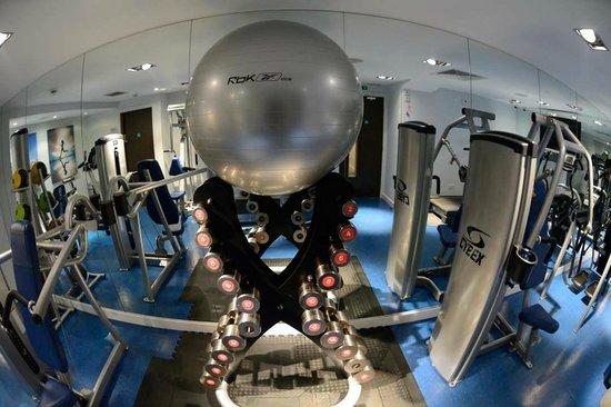 Hotel Indigo London-Paddington : Nicely appointed fitness center