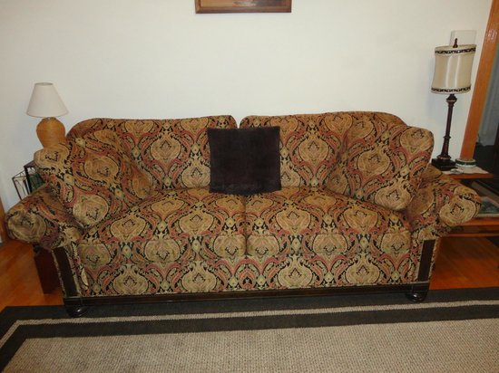 Historic Hill Inn: Apt/Suite couch/Sleeper sofa