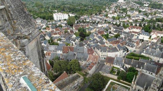 Tour et Crypte de la Cathédrale de Bourges : Veduta dalla torre verso Bourges