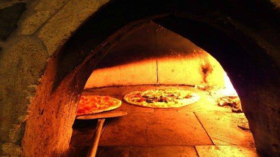 La Dantesca : Pizza al horno, buenísima