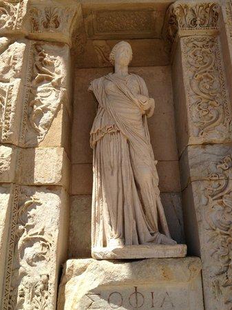 Originals of the statues were taken to Ephesus Museum in ...