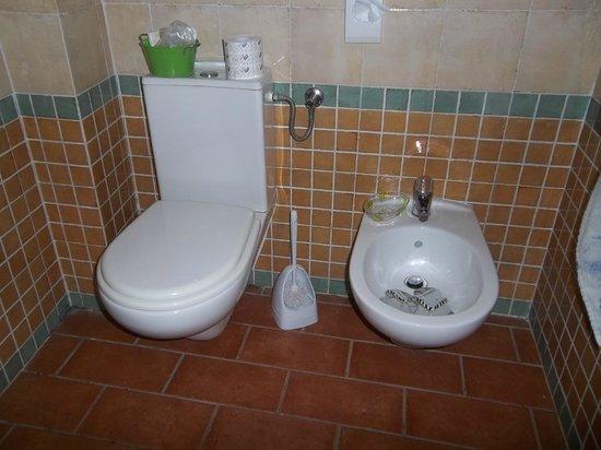 La Casa di Campagna: bagno in camera