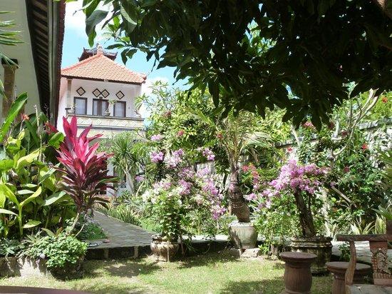 Widya Homestay: vue du jardin