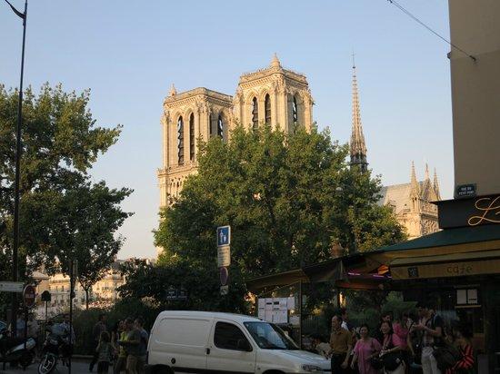 Foto 3 picture of restaurant jardin notre dame paris for Paris restaurant jardin