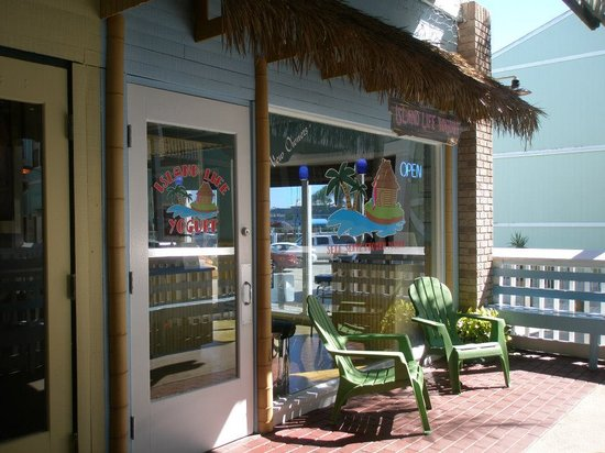 Island Life Yogurt: We are located at Fishermen's Village