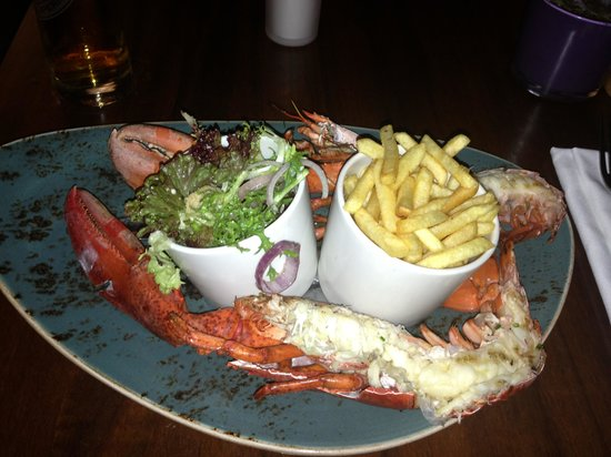 Steak & Lobster Manchester: Delicious Food