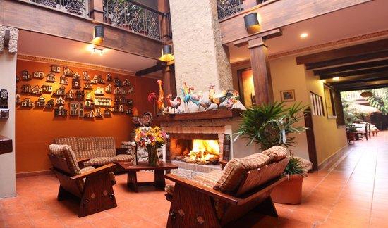 Gran Hotel: chimenea