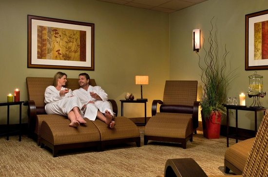 Ascent, the Spa at Tenaya Lodge: Ascent Spa Couples Relaxation Room