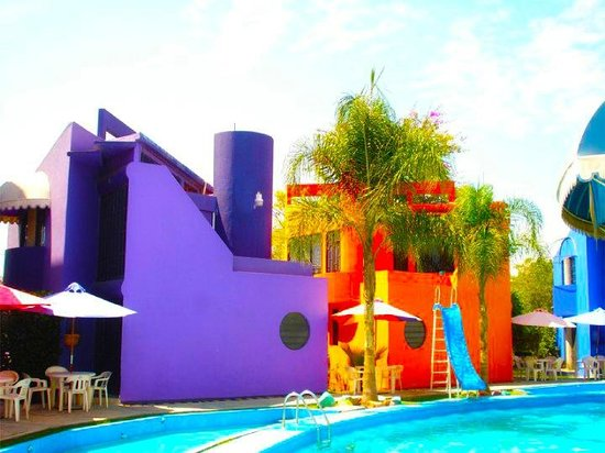 Hotel & Villas Partidor del Sol: Resbaladilla