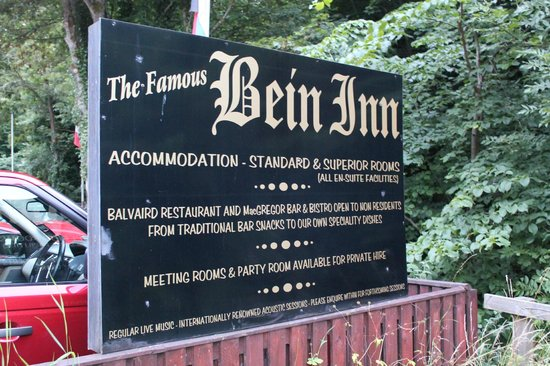 The Famous Bein Inn: Sign