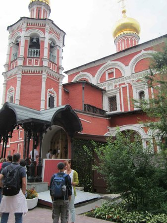 Free Moscow Bus Tour: earliest church outside the Kremlin in Moscow: Kitay Gorod