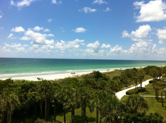 Resort at Longboat Key Club: View from our balcony