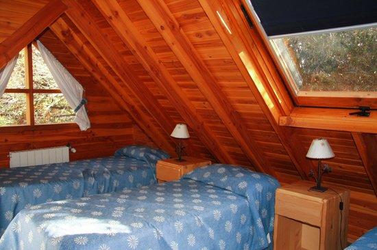 Las Marias del Nahuel : cabin bedroom