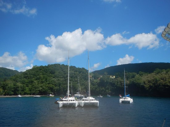St. Lucian Wave Riders : snorkeling