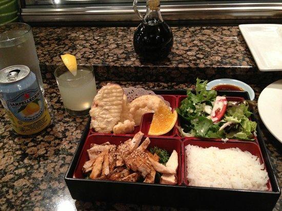 Japango Sushi Restaurant: My lunch
