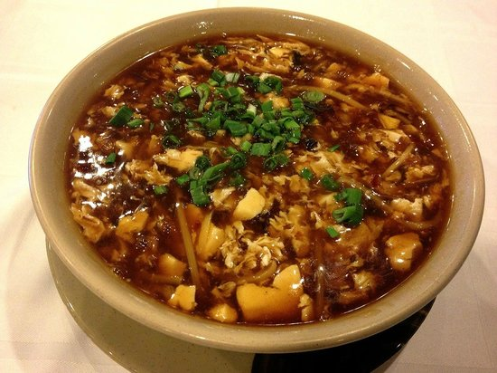 Din Ho Chinese BBQ: Hot Sour Soup