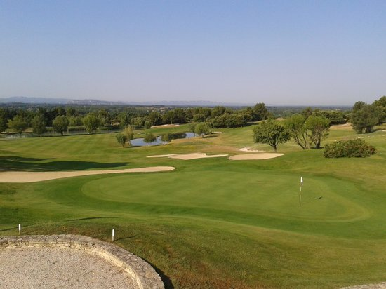 Madame Vacances Residence Provence Country Club: vue golf