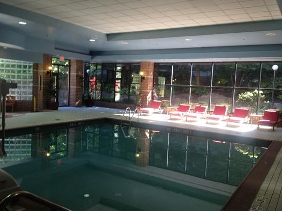 Trumbull Marriott Merritt Parkway Indoor Pool