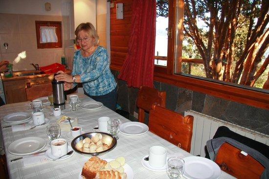 Las Marias del Nahuel : breakfast time