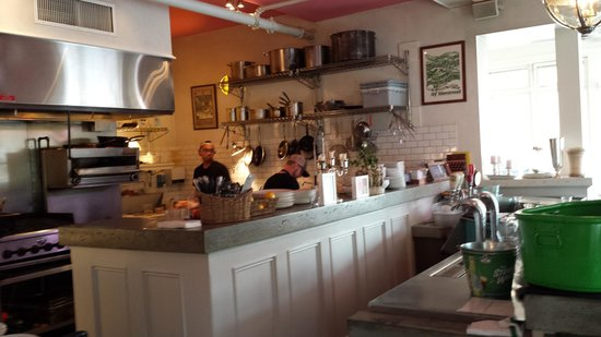 The Tremont Cafe: Open kitchen at Tremont Cafe