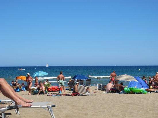 Can Ceret : Strand bij Sant Pere