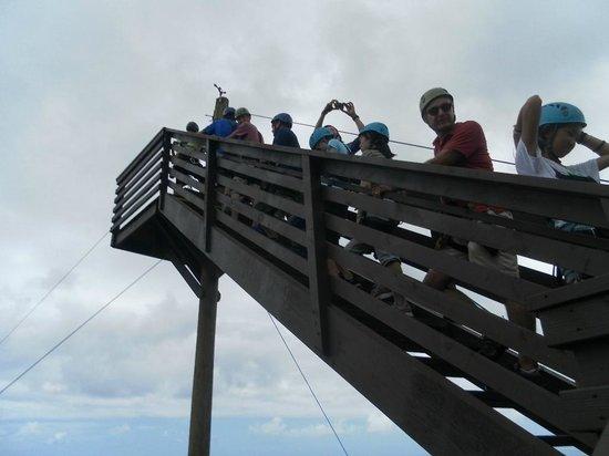 Umauma Falls: no longer  scared ---   want to go back