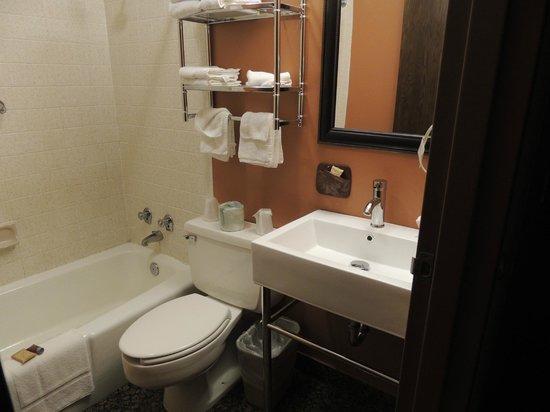 Dakotah Lodge: Bathroom