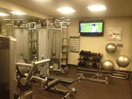 Trumbull Marriott Merritt Parkway: gym