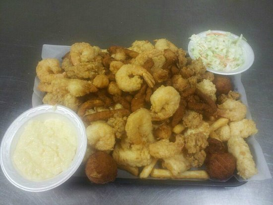 J's Seafood: Platter For Two