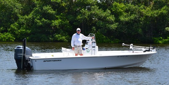 Casual Lies Fishing Charters: Capt. Bruce aboard the Casual Lies