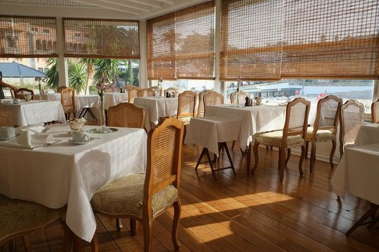 The Albatroz Hotel : Breakfast room