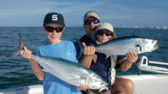 Casual Lies Fishing Charters: Little Tunney