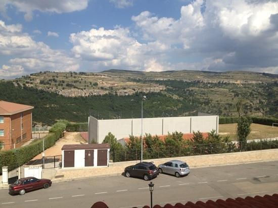 Hotel & Spa Balfagon: vistas desde la terraza