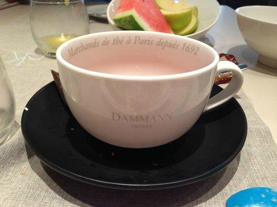 Art Hotel Kalelarga : Good tea from Dammann Freres