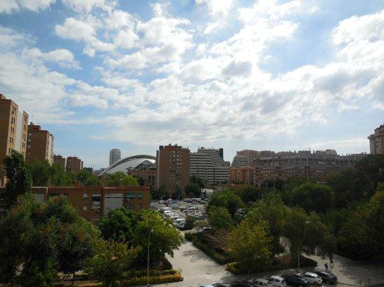 Hotel Medium Valencia : Vista dalla camera