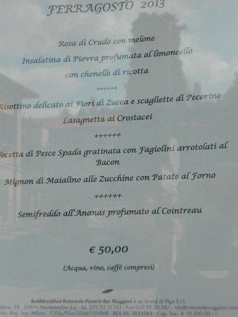 Albergo Ristorante Maggioni, Montevecchia - Ristorante Recensioni ...