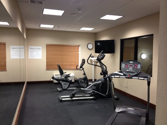 Holiday Inn Express Truth or Consequences: Never miss a workout