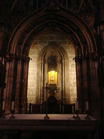 Capilla del Santo Grial: Holy Grail,. Valencia