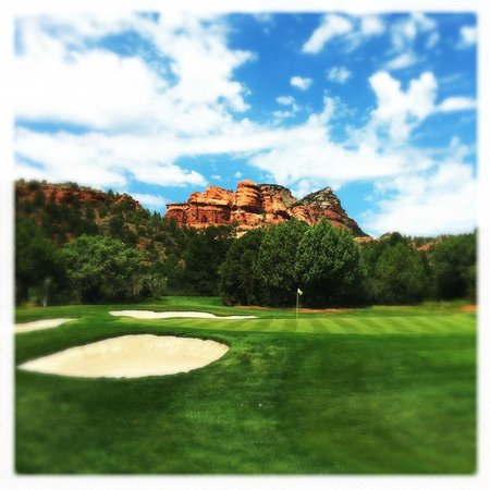 Seven Canyons: Hole 11 Green