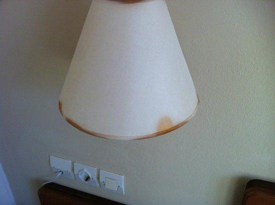 Rethymno Sunset Hotel: natlampen