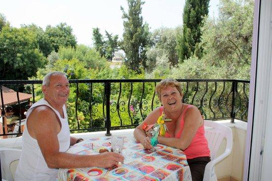 Cennet Apartments: balcony wiev