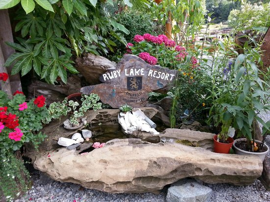 Ruby Lake Resort: Ruby Lake Welcomes you!!!!