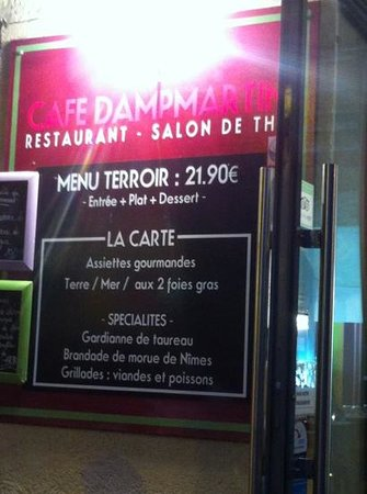 le cafe Dampmartin : cafe dampmartin
