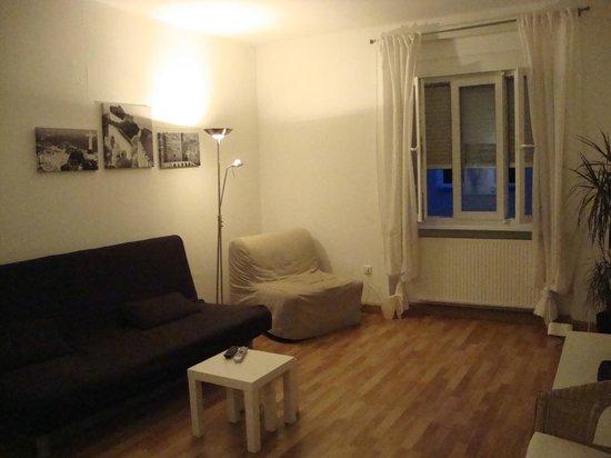 Apartments Thommen: soggiorno