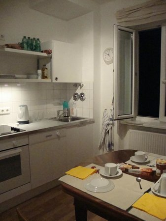 Apartments Thommen: cucina