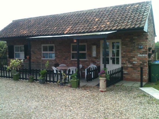 Nafferton, UK: The exterior of Nether Lane Bunk Barn
