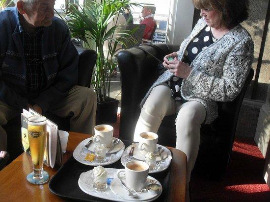 Hotel Walram: Very nice coffee